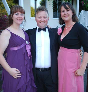 Amy Duggan, Dave Lee and Wendy Chapman